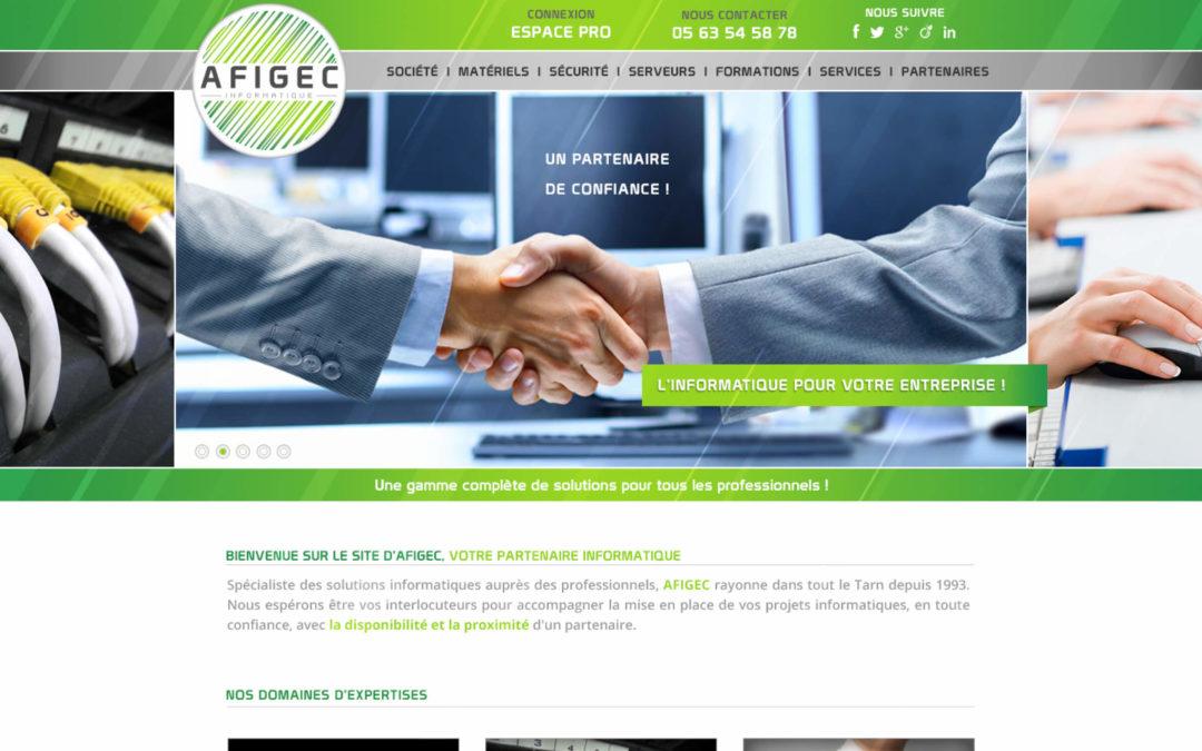 Bienvenue sur le nouveau site d'AFIGEC Informatique